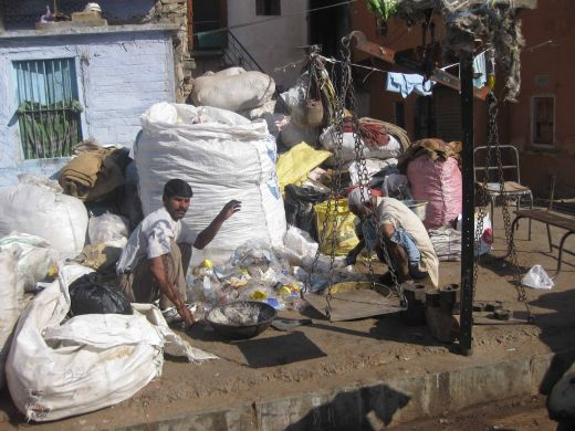 Recycling Solid Waste Photograph in Jaipur