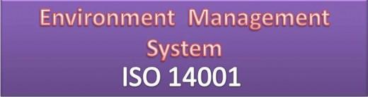 EMS 14001: Environment Management System