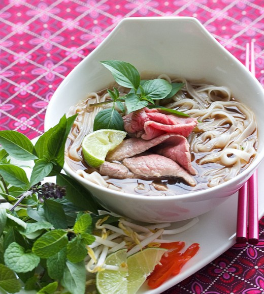 vietnamese pho-beef noodle soup  picture courtesy of http://steamykitchen.com/271-vietnamese-beef-noodle-soup-pho.html