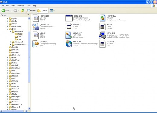 Figure 4, FinalWriter is ready to be installed on a Windows machine.