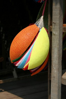 Buy gifts from local markets - light shades in Luang Prabang