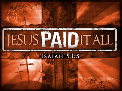 "God Marked our in Accounts ""Paid in FULL"" :)"
