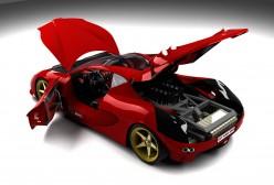 Come for a Ride in My Sexy Red Ferrari