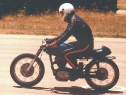 First day on the Track. Winton Raceway 1980.