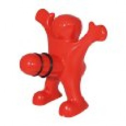 Happy man wine stopper
