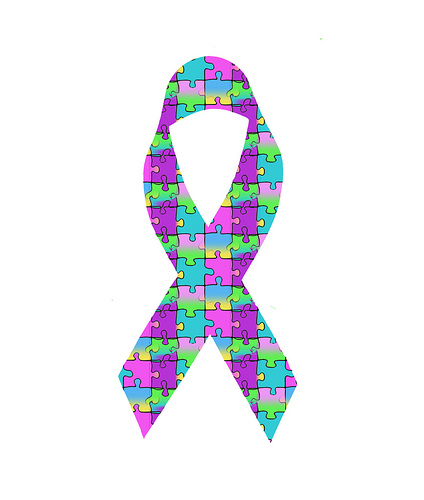 Autism Awareness Ribbon, by BL1961