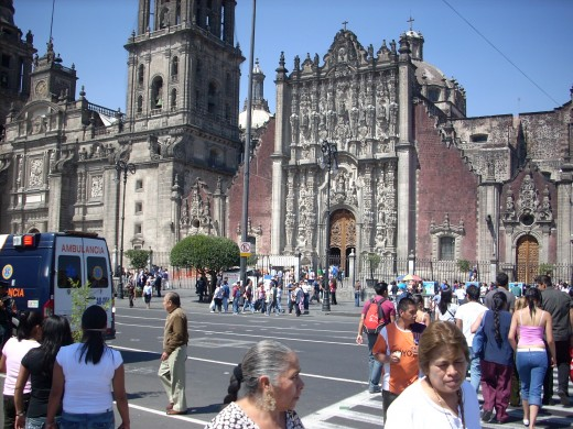 The Zocalo (main square)