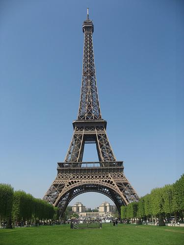 Eiffel tower courtesy of flicker