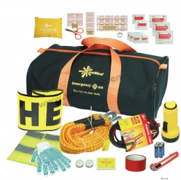 A complete travel first aid kit has everything you need.