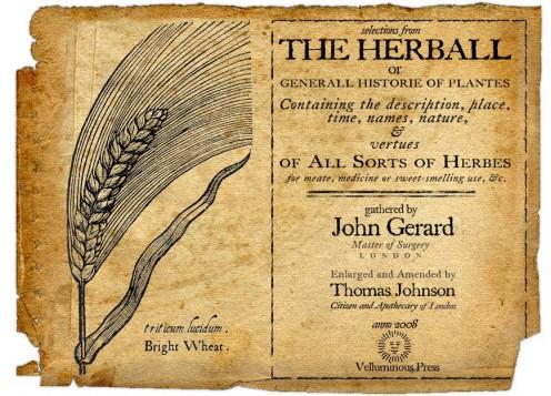 John Gerard's Herbal