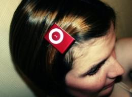 i Pod hair clips