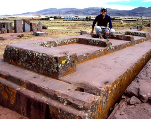 Andesite blocks at Pumapunku