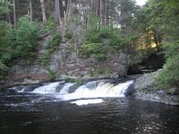 Above Raymondskill Falls