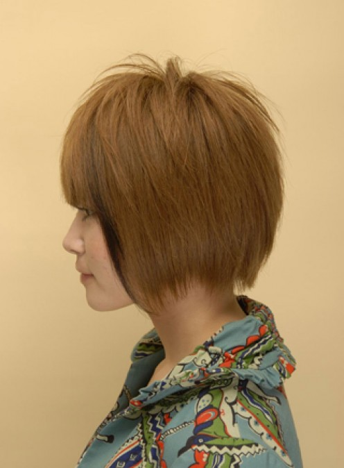 Brown Hair On Asian. Light Brown Hair Styles