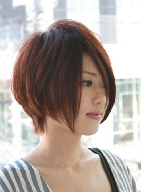 Cool Female Asian Short Brown Hair Styles