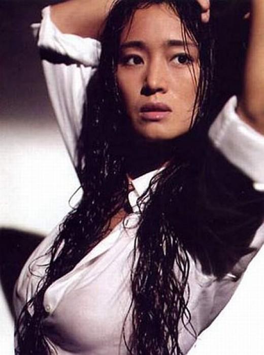 Beautiful woman Chinese Actress Gong Li