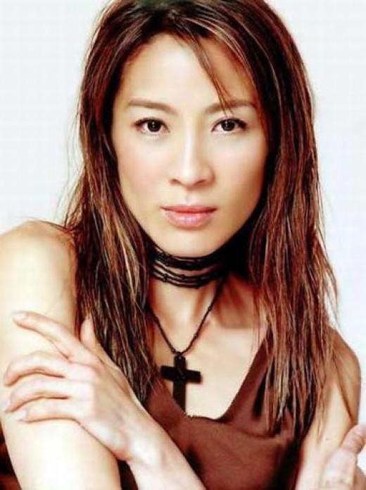 Beautiful woman Chinese Actress Michelle Yeoh