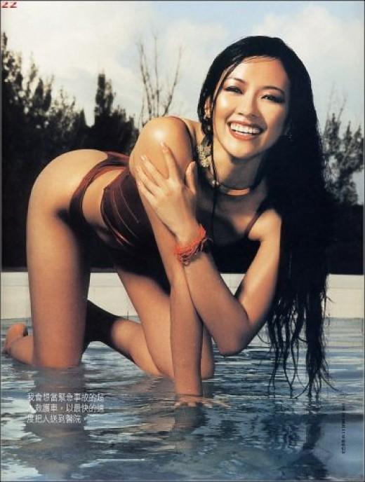 Beautiful woman Chinese Actress Zhang Ziyi
