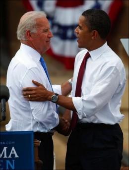 Obama & Biden on the campaign trail.