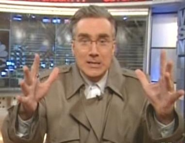 In this corner, Keith Olbermann.