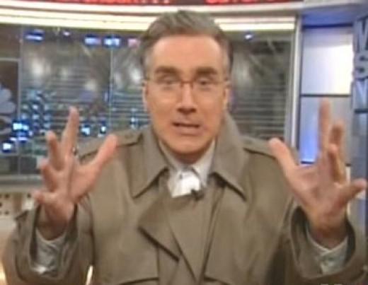 In this corner, Keith Olbermann.