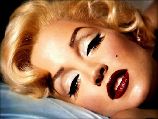 glamour makeup looks. Marilyn Monroe glamour look
