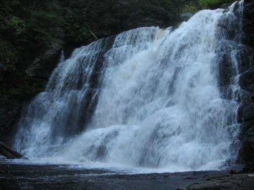 Lower section of Raymondskill Falls