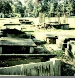 Part of the old Graveyard across from the old Elementary School on Boundary Street In New Berry South Carolina. This graveyard is right out of a Stephen King Novel and it is a hot bed of Paranormal Activity.