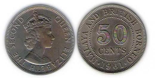 Queen Elizabeth II - Malaya & British Borneo
