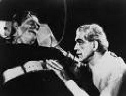 Karloff, Lugosi, and Strange portrayed the Monster.