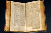 Thomas Jefferson Bible, 1820.  Photo courtesy of the National Museum of American History.