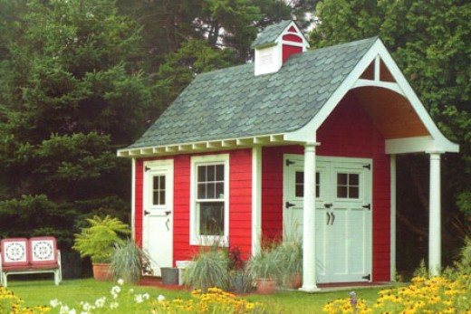 Playhouse Garden Shed Plans : Home ideas