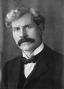 Ramsey MacDonald.  First Prime Minister of the first Labour Party.  He lasted 8 months in 1924.      wiki pic
