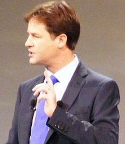 Nick Clegg.  Doing an effective job, but few hold hope for a Liberal resurrection.    wiki photo