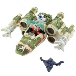 Star Wars Galactic Heroes X-Wing Fighter on Dagobah Set