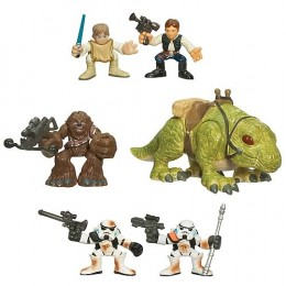Star Wars Galactic Heroes Escape from Mos Eisley Set