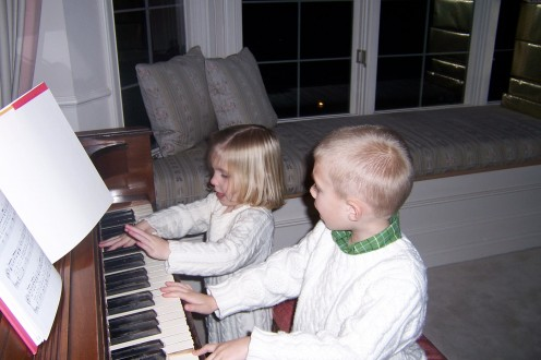 Musical Interest can be expressed as young as age 2