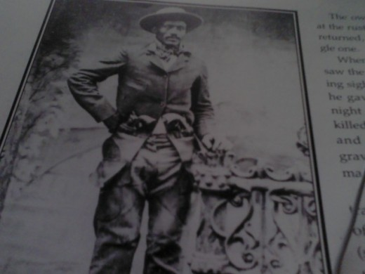 Ned Huddleston, Alias Isom Dart,Alias The Black fox, was a good hearted man that made mistakes and died for them