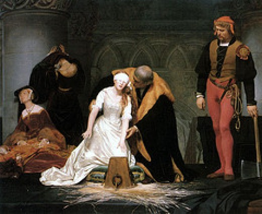 The Execution of Lady Jane Grey by litmuse on flickr