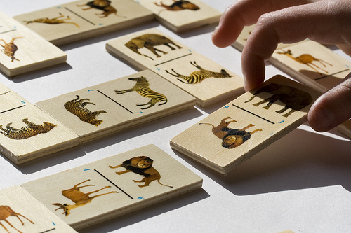 Animal Dominos Game