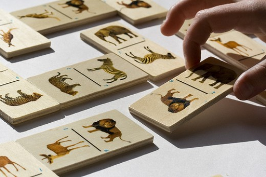 Animal Dominos Game