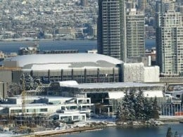 Canada Hockey Place in the heart of downtown Vancouver (courtesy vancouver 2010.com)