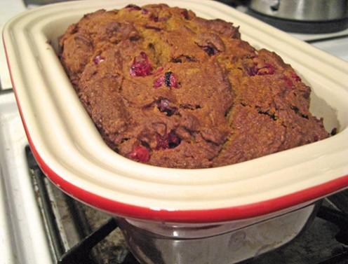 Pumpkin Cranberry Bread (image from Maggie Hoffman on Flickr)