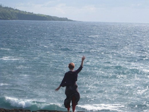 Me, thanking the world for signing my petition to save Feral Cats: Maui ocean geographically speaking!