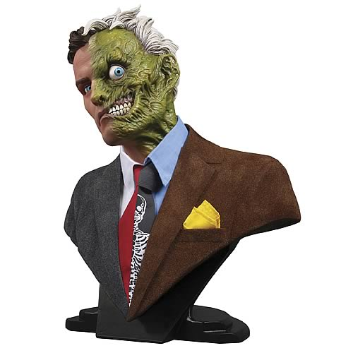 "Why would you listen to anyone that's ""Two-Faced"" anyway? [DC Comics:Batman:""Two Face"":1:2 Scale Bust@www.entertainmentearth.com]"