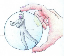 You don't have to hide in a bubble
