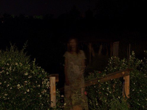 this is one we created, by holding a flashlight in front of the camera lens while taking the picture