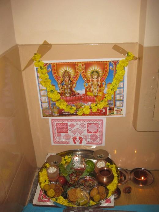 Diwali Pujan Laxmi Devi