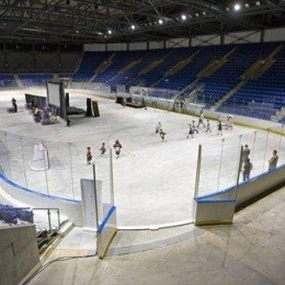 The newly renovated Thunderbird Arena at UBC in Vancouver.  (courtesy Richard Lam/The Canadian Press)