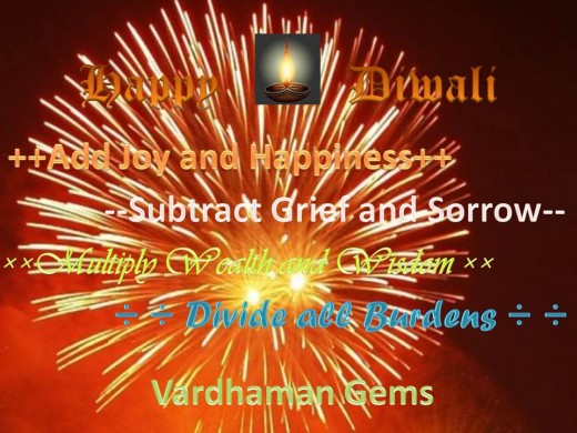 Diwali Greetings Especially designed by Vardhaman infotech, Jaipur